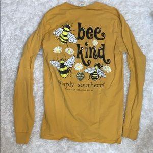 💛🐝Simply Southern Bee Kind Long Sleeve 💛🐝